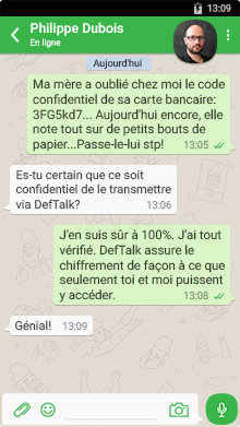 Messagerie DefTalk